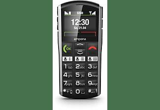 EMPORIA SIMPLICITY Seniorentelefon, Schwarz/Grau