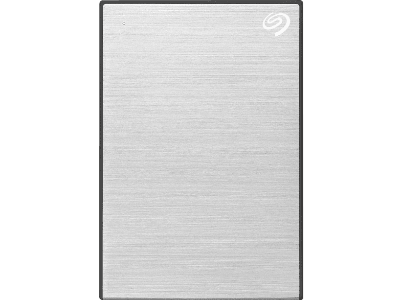 SEAGATE One Touch tragbare Festplatte, 1 TB HDD, 2,5 Zoll, extern, Silber