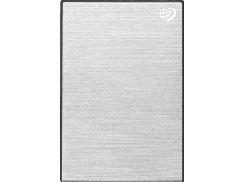 SEAGATE One Touch tragbare Festplatte, 2 TB HDD, 2,5 Zoll, extern, Silber