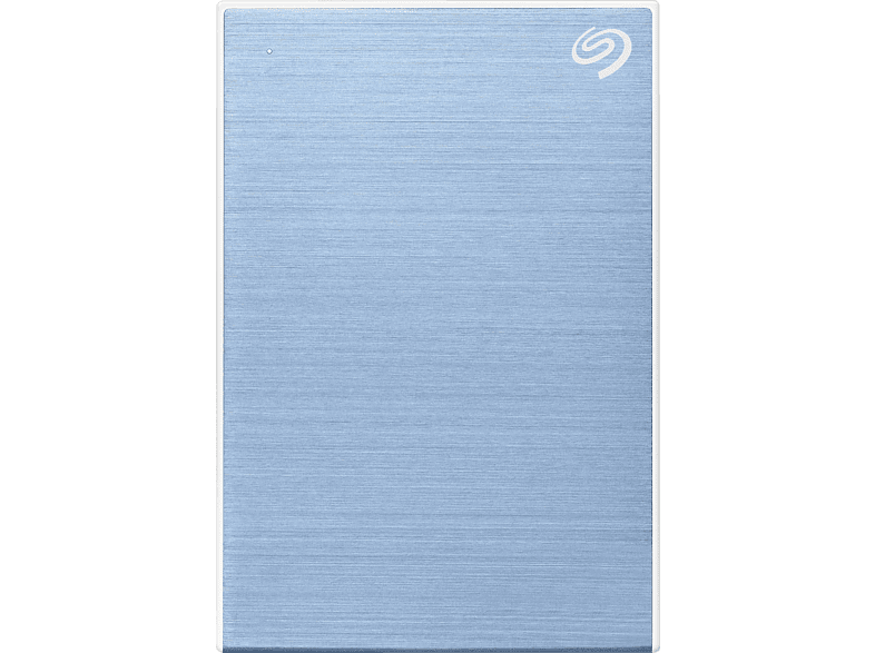 SEAGATE One Touch tragbare Festplatte, 2 TB HDD, 2,5 Zoll, extern, Blau