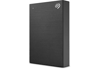 SEAGATE One Touch tragbare Festplatte, 4 TB HDD, 2,5 Zoll, extern, Schwarz