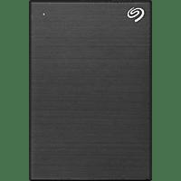 SEAGATE One Touch tragbare Festplatte, 5 TB HDD, 2,5 Zoll, extern, Schwarz