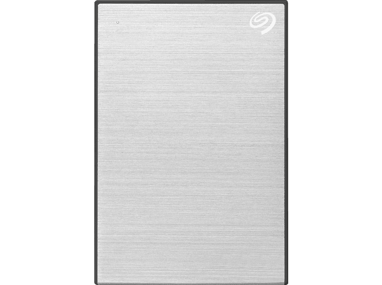 SEAGATE One Touch tragbare Festplatte, 5 TB HDD, 2,5 Zoll, extern, Silber