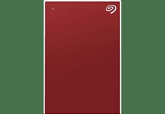 SEAGATE One Touch tragbare Festplatte Festplatte, 2 TB HDD, 2,5 Zoll, extern, Rot