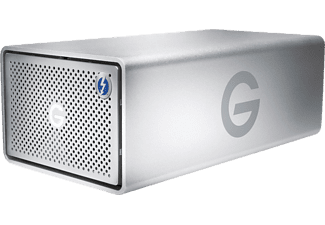 G-TECHNOLOGY G-RAID Removable con Thunderbolt 3 - Server DAS (HDD, 8 TB, Argento)