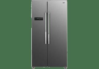 Frigorífico americano - Beko GNO4331XPN, 436 l, No Frost, 177 cm, 39 dB, Acero