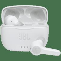 Auriculares inalámbricos - JBL Tune 215, True Wireless, 5h, Blanco