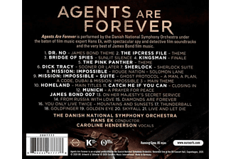 Danish National Symphony Orchestra, Caroline Henderson - Agents are Forever  - (CD)