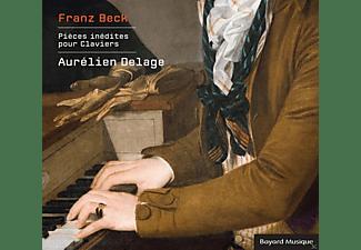 Aurelien Delage - Pieces Inedites Pour Claviers  - (CD)