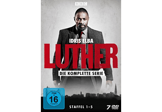 Luther - Die komplette Serie (Staffel 1-5) DVD