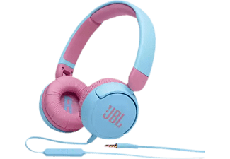 JBL Jr310 - Casque (On-ear, Bleu/Rose)