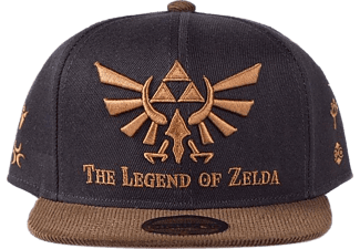 "DIFUZED ""The Legend of Zelda"" Snapback Cap - Casquette (Noir/Brun)"