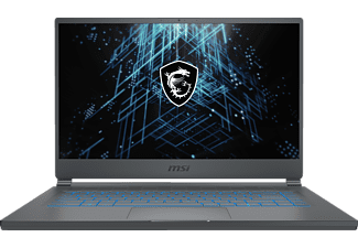 MSI Stealth 15M A11SDK, Gaming Notebook mit 15,6 Zoll Display, Intel® Core™ i7 Prozessor, 16 GB RAM, 1 TB SSD, GeForce® GTX 1660  Ti mit Max-Q Design, Carbon Grau