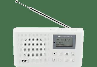 SOUNDMASTER DAB160WE DAB+ Radio, Digital, DAB+, FM, Weiß
