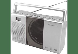 SOUNDMASTER RCD 1185 CD-Radio, Silber