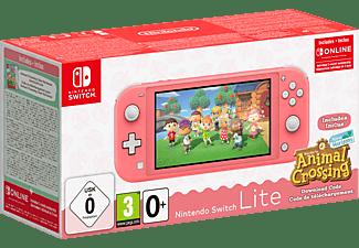 NINTENDO Switch Lite Koralle + Animal Crossing: New Horizons + Switch Online 3-Monate-Abo
