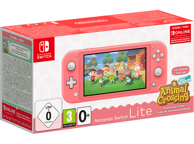 Nintendo Switch Lite + Animal Crossing: New Horizons Bundle
