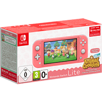 NINTENDO Switch Lite Koralle + Animal Crossing: New Horizons + Switch Online 3-Monate-Abo
