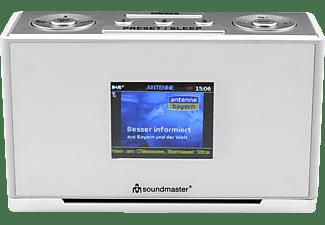 SOUNDMASTER UR240WE Radiowecker, Digital , DAB+, Weiß