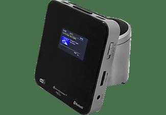 SOUNDMASTER UR260SI Radiowecker, Digital, DAB+, FM, Bluetooth, Schwarz/Grau