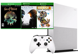 MICROSOFT Xbox One S 1TB (Inkl. Sea of Thieves, Halo 5 och Rare Replay)