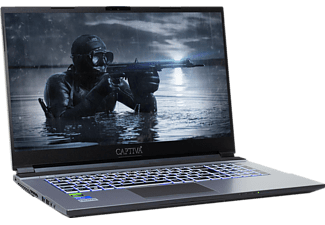 CAPTIVA I57-975, Gaming Notebook mit 17,3 Zoll Display, Intel® Core™ i7 Prozessor, 32 GB RAM, 2 TB SSD, RTX 2060, Schwarz/Silber