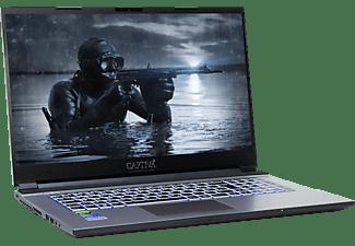 CAPTIVA I57-950, Gaming Notebook mit 17,3 Zoll Display, Intel® Core™ i5 Prozessor, 16 GB RAM, 500 GB SSD, 1 TB HDD, GTX 1650, Schwarz/Silber