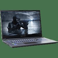 CAPTIVA I57-968, Gaming Notebook mit 17,3 Zoll Display, Core i7 Prozessor, 16 GB RAM, 1 TB SSD, RTX 2060, Schwarz/Silber