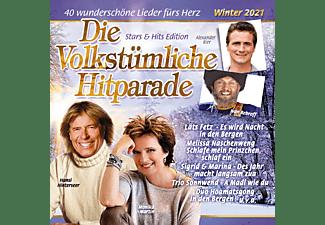 VARIOUS - DIE VOLKSTÜMLICHE HITPARADE WINTER 2021  - (CD)