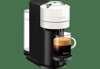 DELONGHI Nespresso Vertuo Next ENV 120.WAE + Aeroccino3 Kapselmaschine Weiß/Schwarz