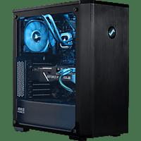 JOULEPERFORMANCE Gaming PC Nuke RTX3070 II7 U, i7-10700F, 32GB RAM, 1TB SSD, 2TB HDD, RTX 3070, Schwarz