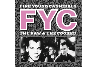 Fine Young Cannibals - THE RAW AND THE COOKED (REMASTERED) (WHITE COLORED  - (LP + Download)