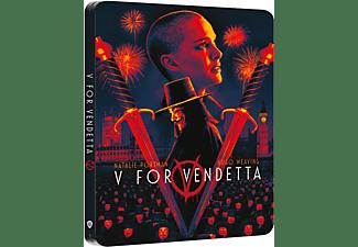 V WIE VENDETTA (STEEL-ED.) 4K Ultra HD Blu-ray + Blu-ray