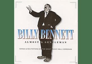 Billy Bennett - ALMOST A GENTLEMAN  - (CD)