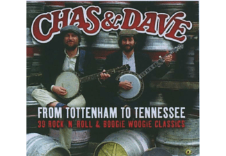 Chas & Dave - FROM TOTTENHAM TO TENNESSEE  - (CD)