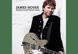 James House - BROKEN GLASS TWISTED STEEL  - (CD)