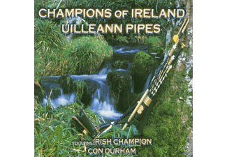 Con Durham - CHAMPIONS OF IRELAND-UILLEANN PIPES  - (CD)