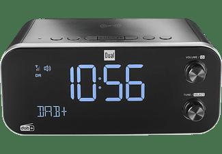 DUAL DAB CR 30 Black Bird Radiowecker, DAB/DAB+/UKW, DAB, DAB+, FM, Schwarz