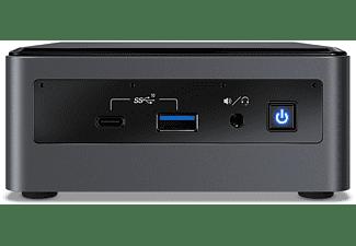 REACONDICIONADO Mini PC - Intel® NUC10i7FNH, Intel® Core™ i7-10710U, 8 GB, UHD Graphics, Windows 10, Negro