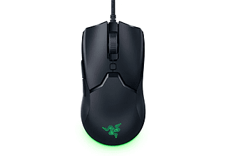 Ratón gaming - Razer Viper Mini, 8500 ppp, Por cable, 6 teclas, 100% PTFE, Negro