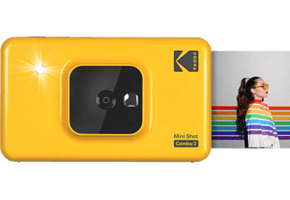 KODAK Mini Shot Combo 2 Sofortbildkamera, Gelb