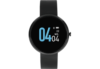 X-WATCH X-WATCH Siona Color Fit (54060) Smartwatch Metall Silikon, 18 x 234mm, Dark Black