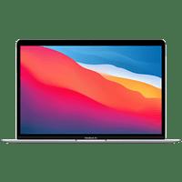 APPLE MacBook Air (M1,2020) MGN93D/A, Notebook mit 13,3 Zoll Display, 8 GB RAM, 256 GB SSD, M1 GPU, Silber