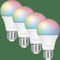HOMBLI HBPP-0402 SMART GLÜHBIRNE CCT/RGB 2+2 LED Glühbirne Megrfarbig/RGB