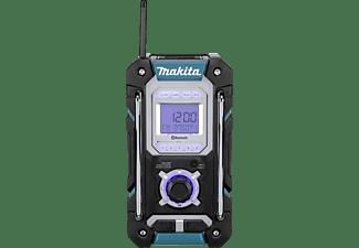 MAKITA DMR 108 Baustellenradio, FM, AM, Bluetooth, Blau/Schwarz