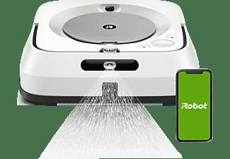 IROBOT Wischroboter Braava M6138, Weiß (App-Steuerbar)