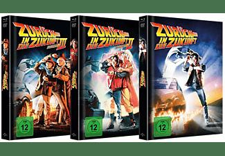 Zurück in die Zukunft - Trilogie limitiertes Mediabook [Blu-ray + DVD]