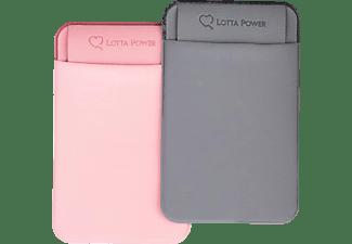LOTTA POWER SoftCase, Backcover, Universal, universal, Rosa, Grau