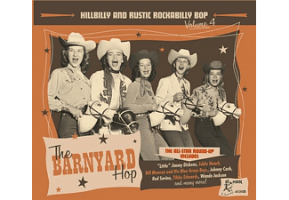 VARIOUS - HILLBILLY And RUSTIC 4 -THE BARNYARD HOP  - (CD)