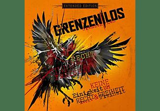 Grenzenlos - Keine Einigkeit um Recht And Freiheit (ltd.+ signed)  - (CD)